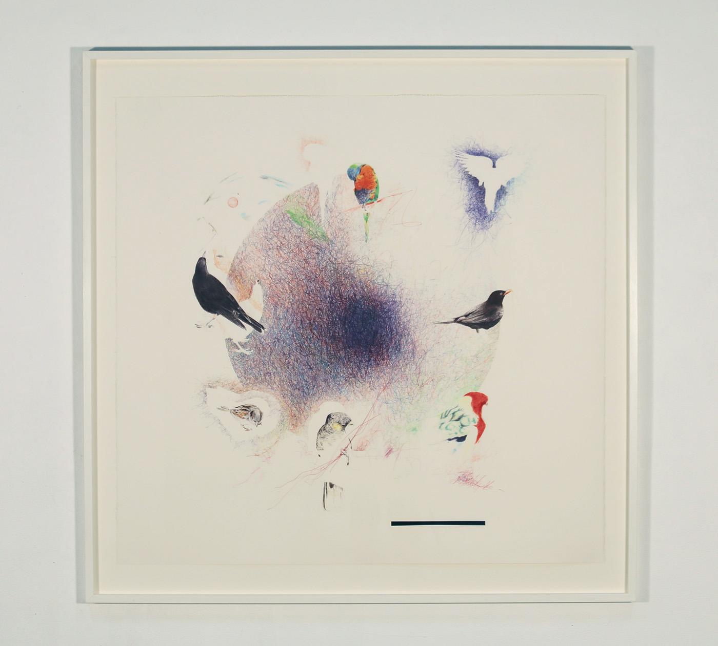 Heraldic Sphere 3 (birds) 2017-19